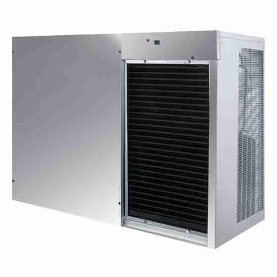 Produttore Fabbricatore di ghiaccio scaglie granulari produzione 770 kg - 24h