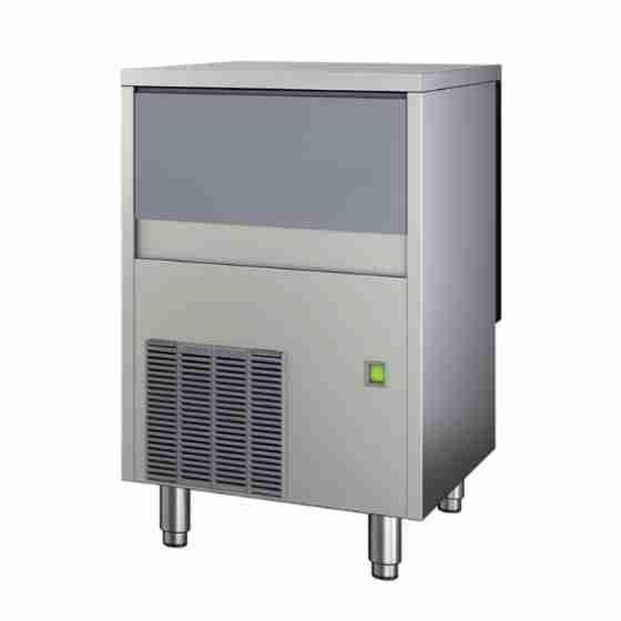 Produttore Fabbricatore di ghiaccio scaglie granulari produzione 155 kg - 24h Capacità Contenitore: 55 Kg