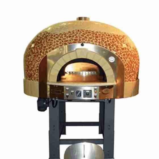 Forno a Gas 10 Pizze con decorazione a Mosaico