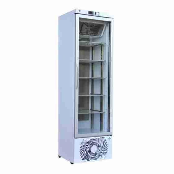 Armadio frigo medicale +1/+15°C capacità 340 lt con display digitale