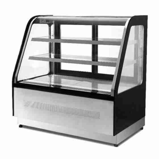 Vetrina refrigerata vetri classic 365 lt 0+8°C 1200x750x1200h mm