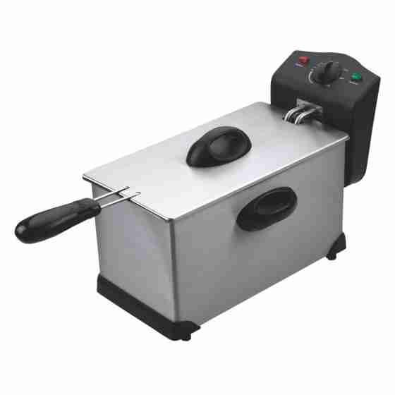 Friggitrice elettrica da banco singola vasca 3.5 lt 2 Kw