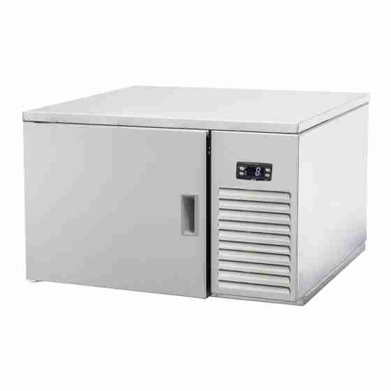 Abbattitore surgelatore di temperatura professionale 3 teglie GN 2/3 fino a -38° C 0.42 kW