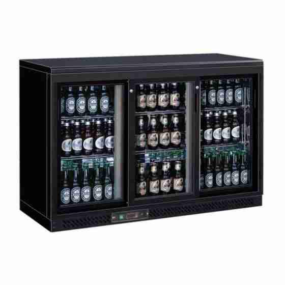 Espositore refrigerato sotto banco professionale positivo capacità 335 litri +2/+8°C