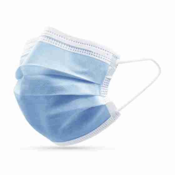 Mascherina chirurgica a 3 strati monouso antismog, batteri e polveri sottili