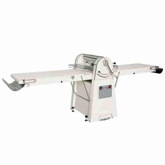 Sfogliatrice con tappeti da 600x1500 mm