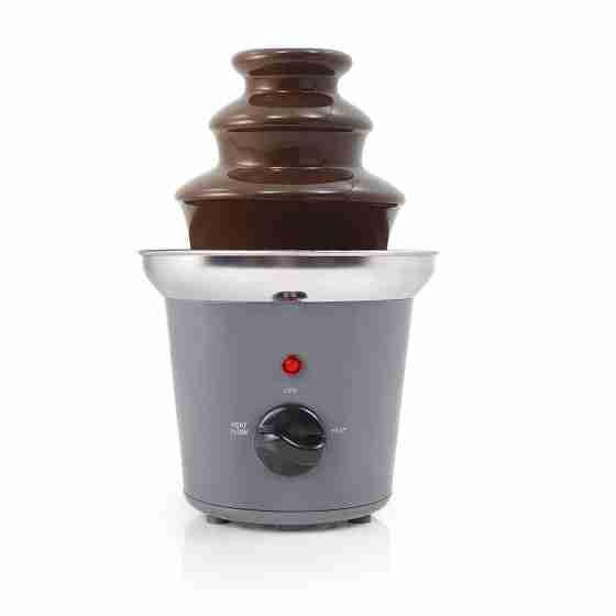 Fontana di cioccolata in acciaio - 2 posizioni riscaldamento