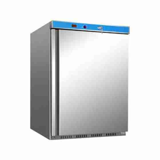 Armadio Congelatore in acciaio inox Evaporatore a Ripiani 130 lt