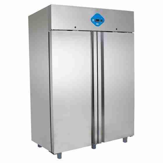 Armadio Congelatore in acciaio inox 1400 lt Negativo