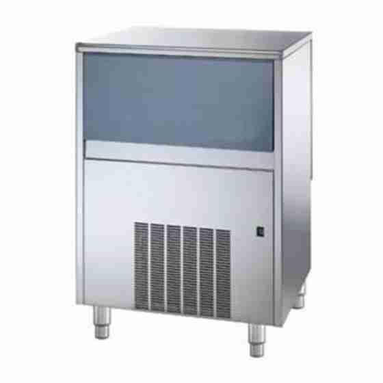Produttore Fabbricatore di ghiaccio cubetti pieni produzione 68 Kg - 24h