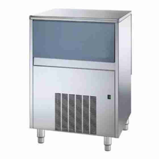 Produttore Fabbricatore di ghiaccio cubetti pieni produzione 100 Kg - 24h