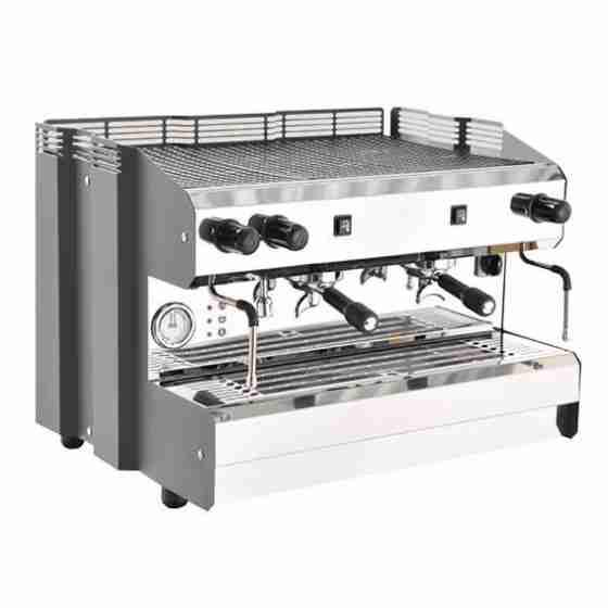 Macchina caffè 2 Gruppi Semiautomatica