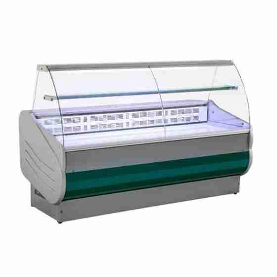 Banco Refrigerato 250 cm Vetri Curvi