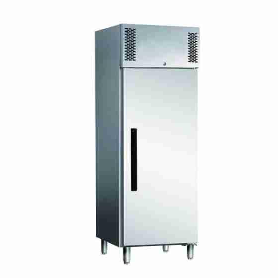 Armadio Congelatore in acciaio inox 537 lt a temperatura normale Ventilato