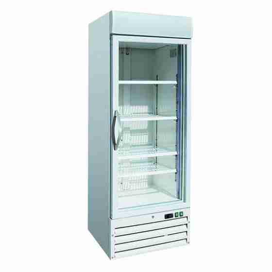Vetrina Gelateria refrigerazione ventilata capacità 578 lt 680x700x1985 h mm