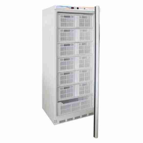 Armadio congelatore statico in abs capacità 555 lt