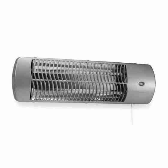 Stufa elettrica (Quarzo) IP24 - Possibilità di montaggio a parete