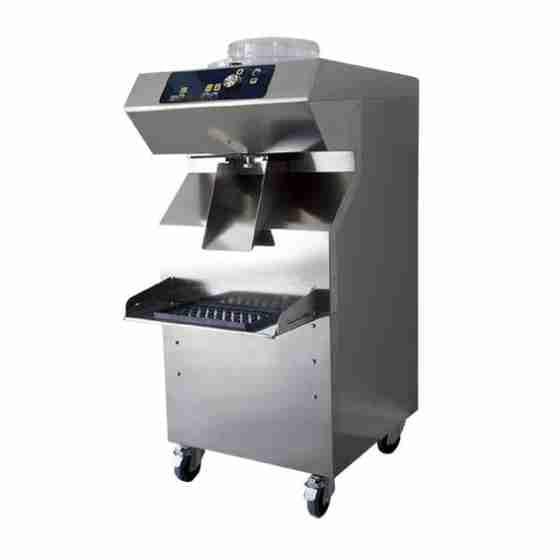 Mantecatore distributore gelato artigianale estrazione automatica condensazione ad aria 7 lt