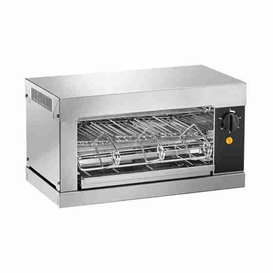 Toaster 3 pinze a carica frontale 440x240x250h mm
