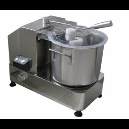 Cutter in acciaio inox 9 lt 1.8 kW 47x29x43,5 h cm