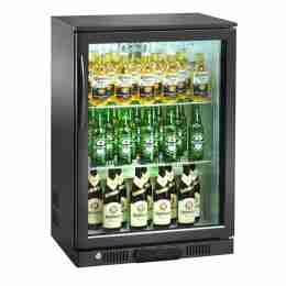 Retrobanco refrigerato ventilato per bibite 1 porta a battente 126 lt 60x50x90h cm
