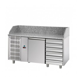 Banco Pizzeria 1 porta 1610x800x1030h mm