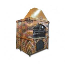 Girarrosti a Legna capacità 40-48 polli