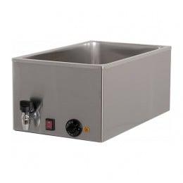 Bagnomaria da banco elettrico capacità vasca 21 lt con rubinetto