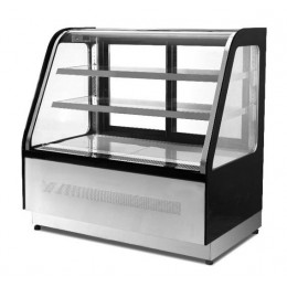 Vetrina refrigerata vetri classic 265 lt 0+8°C 900x750x1200h mm