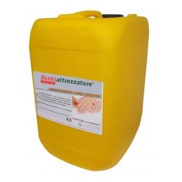 Tanica ricarica di Gel professionale 10 lt igienizzante disinfettante e sanitizzante mani per uso quotidiano, battericida senza risciacquo