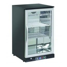 Retrobanco refrigerato ventilato 1 porta a battente 132 lt 600x520x900 h mm