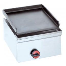 Piastra Fry top acciaio inox professionale gas 40 cm