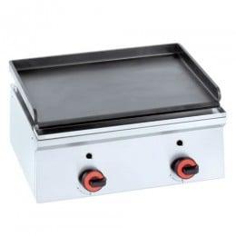 Piastra Fry top acciaio inox professionale elettrico 2+2 Kw
