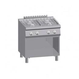 Cucina a gas 4 Fuochi s/70