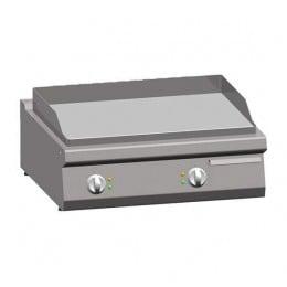Piastra Fry top acciaio inox professionale elettrico Liscio Acciaio Dolce Top