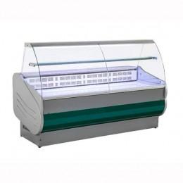 Banco Refrigerato 150 cm Vetri Curvi