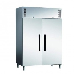 Armadio Congelatore in acciaio inox 1200 lt a temperatura normale Ventilato