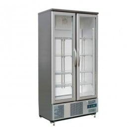 Vetrina Bibite Pasticceria 2 ante vano unico refrigerazione ventilata su 8 ripiani