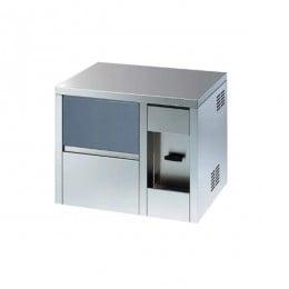 Produttore Fabbricatore di Ghiaccio cubetti pieni Sistema a Spruzzo Capacità fino 25 Kg