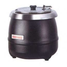 Zuppiera elettrica colore nero capacità 10 lt 350x350x380 h mm