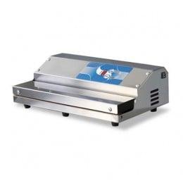 Confezionatrice ad estrazione esterna in acciaio inox barra saldante 400 mm