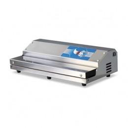 Confezionatrice ad estrazione esterna AUTOMATICA in acciaio inox barra saldante 450 mm