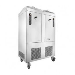 Mantecatore per Gelato raffreddamento ad aria capacità vasca 2 x 3.2 lt