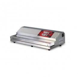 Confezionatrice ad estrazione esterna in acciaio inox barra saldante 450 mm