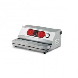 Confezionatrice ad estrazione esterna AUTOMATICA in acciaio inox barra saldante 500 mm