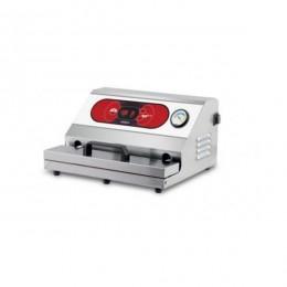 Confezionatrice ad estrazione esterna AUTOMATICA in acciaio inox barra saldante 450 mm ad Olio