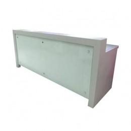 Banco Bar Refrigerato 260 cm - Rivestimento in CORIAN con lavello a destra
